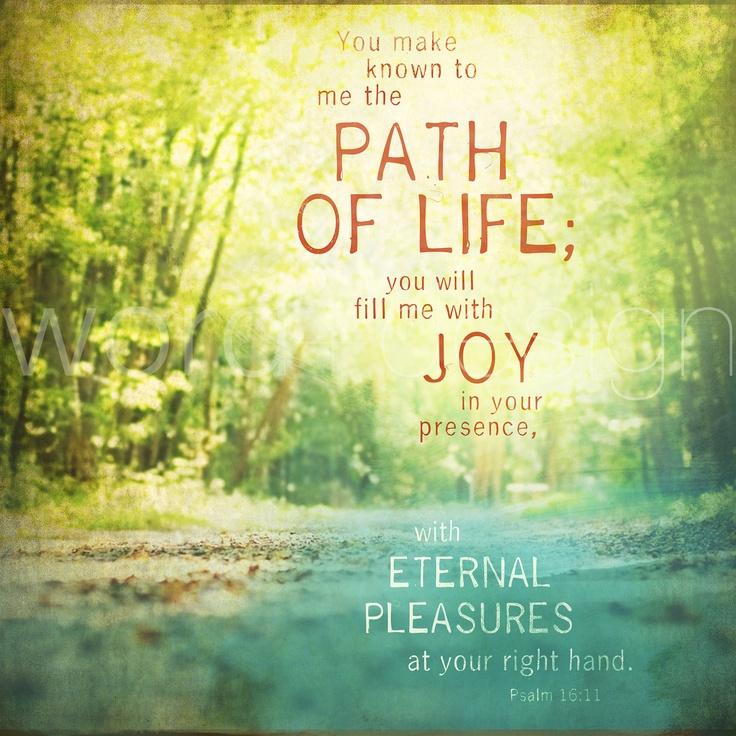 Psalm 16-11